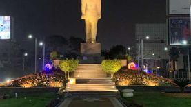محافظة القاهرة تنهي تطوير محيط تمثال رمسيس: لاندسكيب وإضاءة ومزروعات