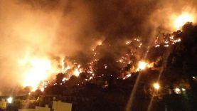 إصابة 10 أشخاص في حريق امتد إلى 17 منزلا بقنا
