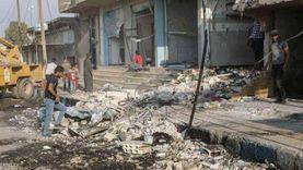 قتلى وجرحى بينهم رئيس مخفر شرطة في انفجار سيارتين شمال سوريا