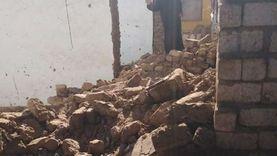 مصرع سيدة انهار جدار منزل عليها بالرشاوين غرب الأقصر