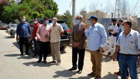 محافظ القليوبية يشهد إزالة 6 أدوار مخالفة من أحد الأبراج ببنها
