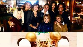 هند صبري تحتفل بعيد ميلادها.. وبوسي شلبي: أعز الناس