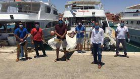 """""""سياحة جنوب سيناء"""" ترصد مخالفات بمراكز الغوض والأنشطة البحرية"""