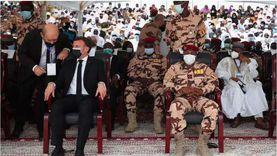 مشاهد من جنازة الرئيس التشادي إدريس ديبي.. حضرها ماكرون