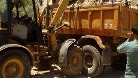 رفع 3380 طن مخلفات وتراكمات من الأحياء والمراكز بالجيزة