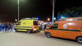 إصابة أمين شرطة سقط من شرفة منزله أثناء إصلاح طبق الدش بالدقهلية