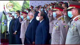 خريجو الكليات والمعاهد العسكرية يؤدون قسم الولاء أمام الرئيس