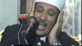 في ذكراه.. عبدالباسط عبدالصمد قرأ بجنازة عبدالناصر وشهد اغتيال السادات