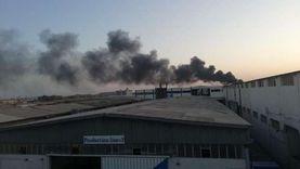 السيطرة على حريق في شدادات خشبية بكوبري تحت الإنشاء بالمرج