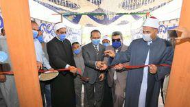 سكرتير عام الدقهلية يفتتح مسجد عزبة نزهة بتكلفة 3 ملايين جنيه