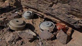 """""""مسام"""" ينتزع 1014 لغما في اليمن خلال الأسبوع الثاني من يوليو"""