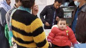 تطعيم 977 ألف طفل ضد شلل الأطفال بجميع مراكز المنيا