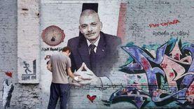 """جرافيتي ولمبة جاز.. دعاية """"الجيش الأبيض"""" بدمياط قبل الصمت الانتخابي"""
