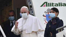 أرضا وجوا.. تفاصيل تأمين زيارة بابا الفاتيكان إلى العراق