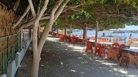 حدائق كفر الشيخ خالية من المعيدين تطبيقا للإجراءات الاحترازية