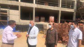 """مساعد نائب رئيس""""هيئة المجتمعات العمرانية"""" يتفقد مشروعات منطقة"""" مثلث ماسبيرو"""" بمحافظة القاهرة"""