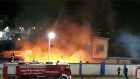السيطرة على حريقين في مصنع أثاث ومخزن خردة بسوهاج