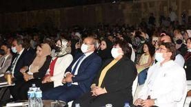 وزيرة الثقافة تطلق فعاليات المهرجان الدولي للطبول والفنون التراثية