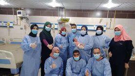 """4 مستشفيات تسجل """"صفر كورونا"""" في قنا"""