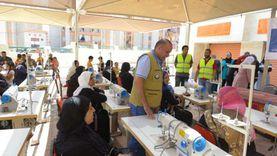 الأورمان تسلم 3950 مشروعا تنمويا وقروض حسنة ومواشي لأسر كفر الشيخ
