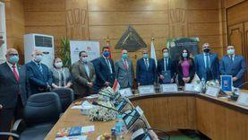 تعاون بين جامعة بنها والبنك التجاري الدولي لدعم وحدة الأطفال المبتسرين
