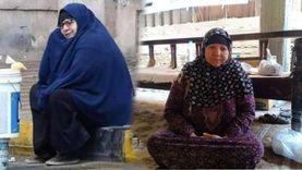 """""""سيدة المطر"""" لـ""""الوطن"""": فضلت قاعدة تحت المطر علشان عايزة أكل"""