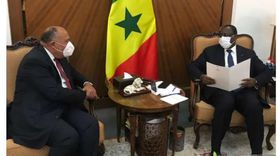 وزير الخارجية يلتقي رئيس السنغال ويسلمه رسالة من السيسي