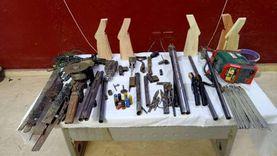 حبس عامل ونجله يديرا ورشة لتصنيع الأسلحة بقنا