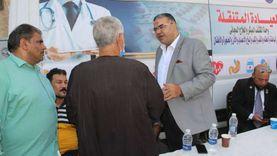 «المواطن له علينا حق».. فحص 500 حالة في قافلة «مستقبل وطن» بشبرا