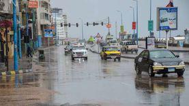"""""""بحوث المياه"""" يتوقع أمطاراً شديدة على الإسكندرية خلال ساعات"""