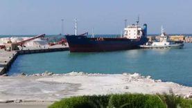 تصدير 5900 طن ملح عبر ميناء العريش وتفريغ 7220 طن رخام بغرب بورسعيد