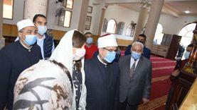 12 رسالة من وزير الأوقاف لشباب مصر خلال افتتاحه مساجد دمياط