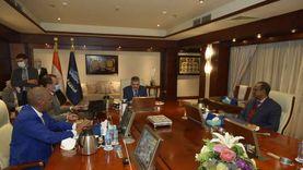 رئيس هيئة قناة السويس يستقبل سفير جيبوتي لبحث سبل تعزيز التعاون