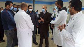 وكيل صحة الشرقية يتفقد العمل بمستشفى منيا القمح