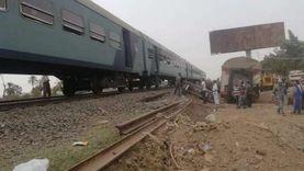 عودة حركة القطارات بعبور أول قطار خط بحري «اتجاه القاهرة» بالقليوبية