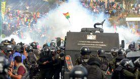 مظاهرات احتجاجية ضد قرار السلطات بتأجيل الانتخابات الرئاسية في بوليفيا