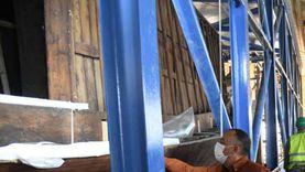 أمين «الأعلى للآثار» يتابع استعدادات نقل مركب خوفو للمتحف الكبير