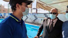 «شباب القليوبية» تتابع العمل بحمامات سباحة بنها للتأكد من صلاحيتها