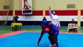 «كابتن صباح» أول مدربة ملاكمة وحكم كونغ فو ببني سويف: زوجي يدعمني
