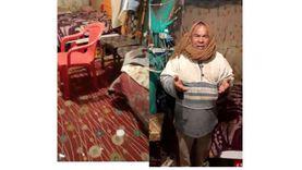 عم محمد الشهير بـ«أبو آية» يعيش في عشة منذ زلزال 92