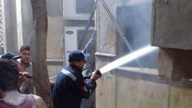 إطفاء حريق مسجد صقر قريش وإخراج 80 تلميذا بالمعهد الأزهري دون إصابات