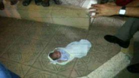 العثور على طفلتين حديثي الولادة في سوهاج