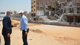 محافظ القليوبية يتفقد المشروع القومي «سكن لكل المصريين» بشبرا