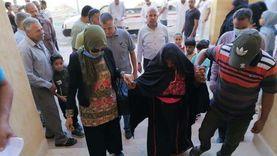 تسليم الوحدات السكنية للمنقولين من الشيخ زويد ورفح إلى العريش