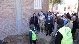 نائب محافظ سوهاج يتفقد مشروع الصرف الصحي بقرية «تل الزوكي»