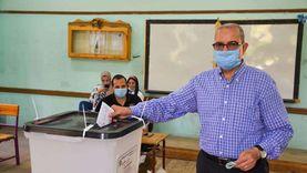 """وكيل """"تعليم بورسعيد"""" يدلي بصوته في انتخابات الشيوخ"""