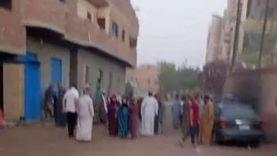 تشييع جثامين 6 ضحايا سقطوا في غرفة صرف صحي بالمنيا