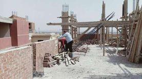 رصد وإزالة مخالفتي بناء خلال إجازة عيد الفطر في العبور وسوهاج الجديدة