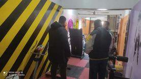 أحياء الإسكندرية تغلق 6 صالات «جيم» غير مرخصة
