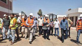 محافظ أسيوط يتفقد محطة المعالجة الثلاثية للصرف الصحي بقرية شطب